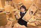 Người phụ nữ Nhật làm mọi thứ từ bìa các-tông, bán giá trăm triệu đồng