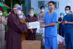 Lãnh đạo GHPGVN thăm các bệnh viện điều trị Covid-19 tại TP.HCM