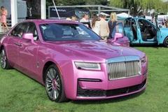 Những chiếc Rolls-Royce có màu hồng đặc biệt