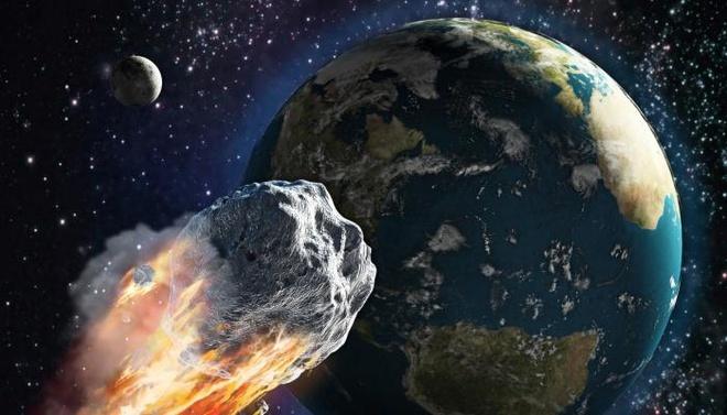 Thiên thạch có vận tốc 32.000 km/h đang hướng đến gần quỹ đạo Trái Đất