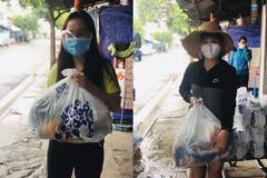 Migrant workers happy with food packages