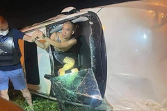 Hà Nội:  Tạm giữ hình sự lái xe gây tai nạn liên hoàn ở Đông Anh