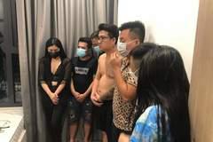 Tạm giữ hình sự nhóm tổ chức 'tiệc' ma tuý ở chung cư tại Hà Nội