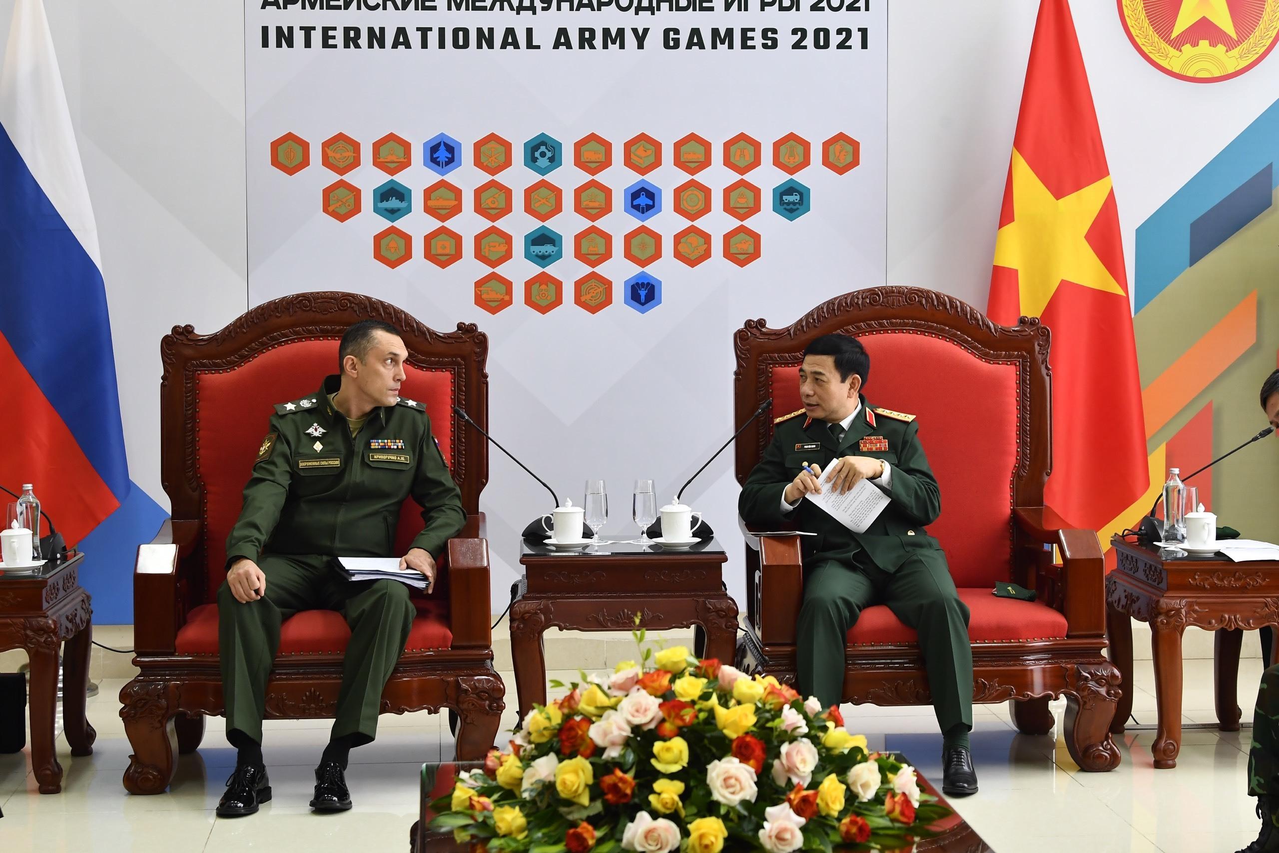 Nga mong Việt Nam tiếp tục tham gia tổ chức Army Games