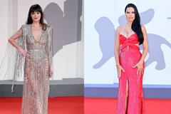 Siêu mẫu nội y đọ dáng với sao phim 18+ trên thảm đỏ Venice