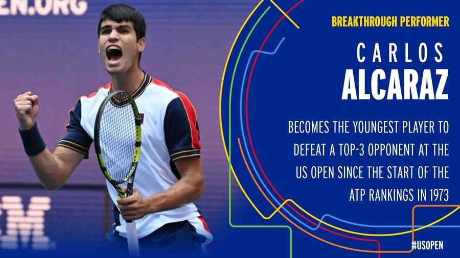 US Open: Tay vợt 18 tuổi viết cổ tích khi đá bay Tsitsipas