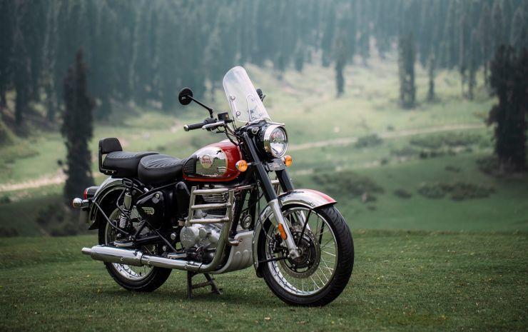 Ra mắt mô tô cổ điển giá rẻ Royal Enfield Classic 350 2021