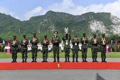 Army Games ở Việt Nam: Nga và Việt Nam giành cúp chiến thắng