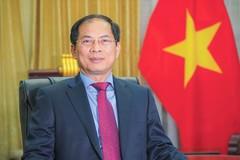 Bộ trưởng Bùi Thanh Sơn gửi thư chúc mừng 76 năm ngày thành lập ngành Ngoại giao