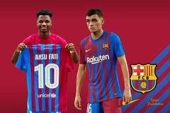 Barca gia hạn Pedri và Ansu Fati