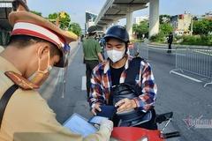 Quy trình mới về xét duyệt, cấp Giấy đi đường ở Hà Nội