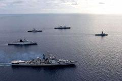 Ấn Độ và Singapore tập trận lớn gần Biển Đông