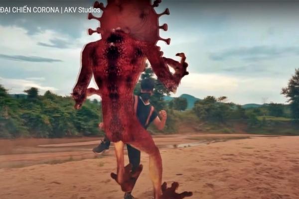 Chàng trai Pa Kô mở thư viện, làm phim 'võ thuật' về đại chiến với Covid-19