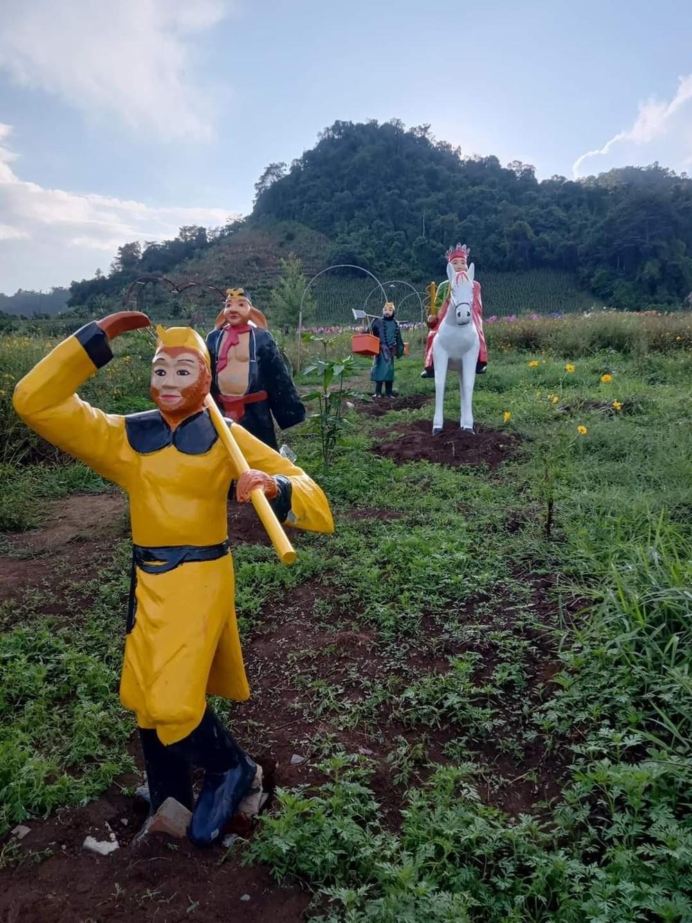 4 bức tượng thầy trò Đường Tăng 'xấu lạ' ở Sơn La bị dỡ bỏ