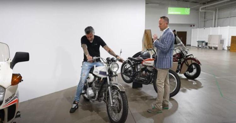 Richard Rawlings chuẩn bị đấu giá Honda Dream 50 độc nhất thế kỷ