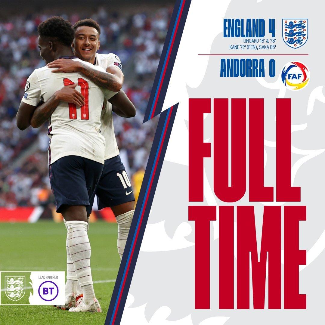 Lingard rực sáng, tuyển Anh tiếp tục đại thắng