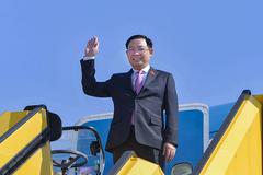 Chủ tịch Quốc hội đến Áo, tham dự Hội nghị các Chủ tịch Quốc hội thế giới