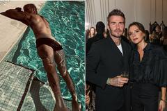 Victoria gây bão khi đăng ảnh David Beckham ở bể bơi