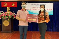 Thẩm mỹ viện Bích Hòa trao 10 tấn gạo tiếp sức người dân TP.HCM chống đại dịch Covid-19