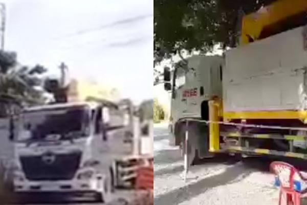 Trưởng phòng CSGT bị kiểm điểm vì liên quan vụ thuê chở cây lúc giãn cách
