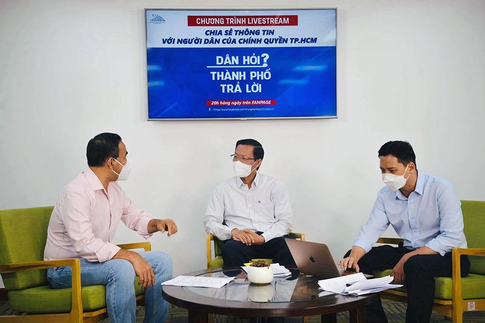 Chủ tịch TP.HCM Phan Văn Mãi: Tôi nhận khuyết điểm với bà con