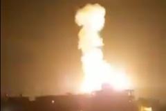 Video Israel không kích dữ dội vào Dải Gaza