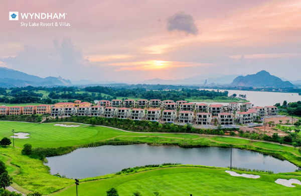 Wyndham Sky Lake Resort & Villas, nơi thiên nhiên 'chạm' đến trái tim