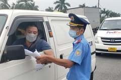 Đề xuất mở 4 điểm test nhanh Covid-19 cho lái xe chở hàng ở Hà Nội