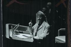 'Chọn cành ô liu hay khẩu súng', câu nói đi vào lịch sử của ông Yasser Arafat