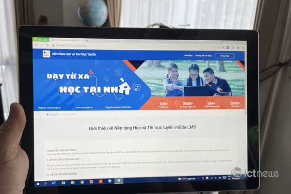 """Sẽ sớm có chương trình """"Sóng và máy tính cho em"""", hỗ trợ học tập trực tuyến"""