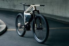 Xe đạp điện BMW có ghế chỉnh điện, mở khóa bằng gương mặt