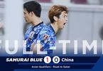 Xem bàn thắng duy nhất giúp Nhật Bản hạ Trung Quốc