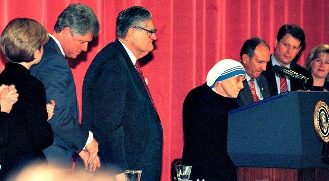 Bài phát biểu chấn động thế giới của Mẹ Teresa