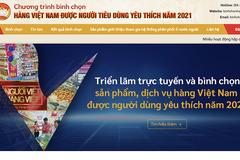 Hà Nội triển khai bình chọn hàng Việt Nam chất lượng cao 2021 qua mạng