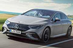 Xe điện Mercedes-Benz EQE 2023 lộ diện sánh ngang Tesla Model S, Audi A6 e-tron