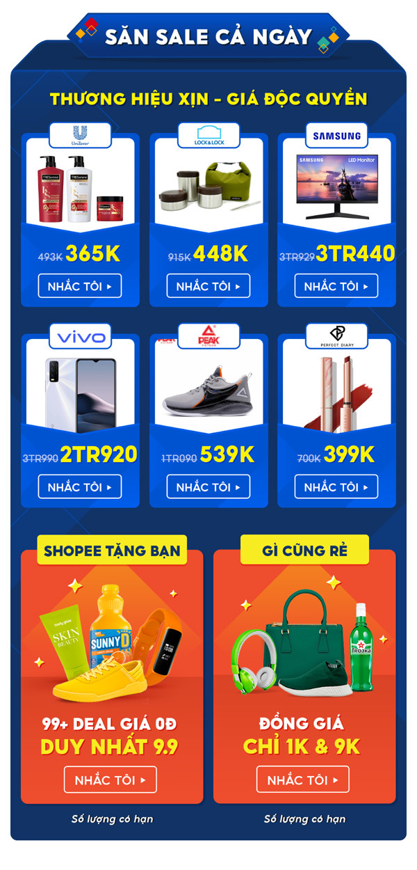 9 điều thú vị trong Ngày siêu mua sắm trên Shopee