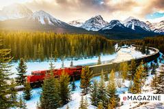 Hành trình 'lên mây' trên đoàn tàu leo núi đẹp nhất thế giới