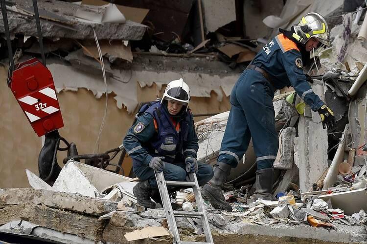 Nổ khí ga ở Nga, nhiều người thương vong
