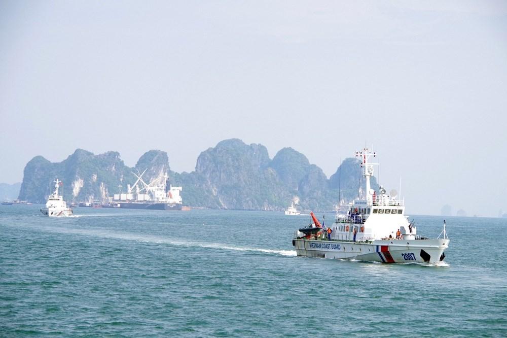 Vùng Cảnh sát biển 1 quyết tâm giành kết quả cao nhất trong cuộc thi trực tuyến 'tìm hiểu Luật Cảnh sát biển Việt Nam'