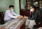 Thư cảm ơn của người dân nhận tiền hỗ trợ sau phản ánh với VietNamNet