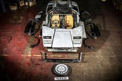 """Sau 13 năm """"ngủ kho"""", xế cổ Lamborghini tháo rời đấu giá 5,7 tỷ"""