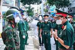 Tư lệnh Quân khu 7: 'Ở đâu khó khăn, ở đó có bộ đội'