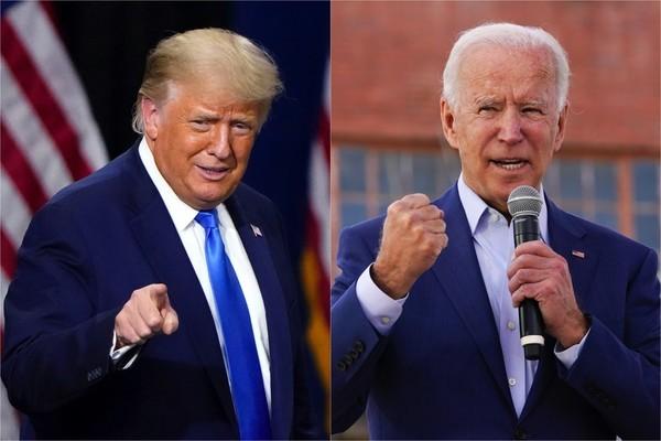 Ông Trump tuyên bố 'hạ đo ván' Tổng thống Biden trên võ đài