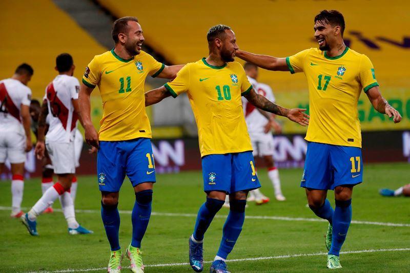 Vòng loại World Cup 2022,Brazil,Peru,Neymar