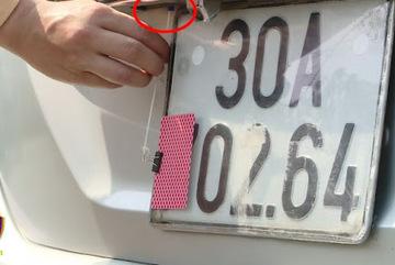 Che biển số ô tô, đề xuất tăng mức phạt gấp 6 lần