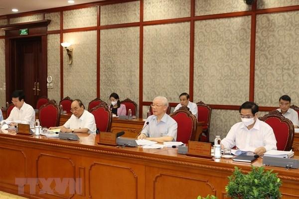 Tổng Bí thư chủ trì họp về Đề án sửa quyền hạn BCĐ TW chống tham nhũng