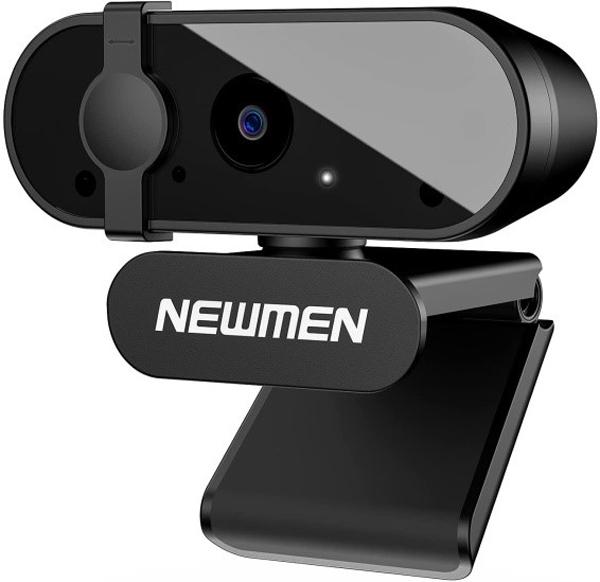 Thiết bị hỗ trợ online Newmen CM303 - webcam vượt trội với góc nhìn rộng, mic kép