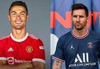 Ronaldo đạt kỷ lục khủng bán áo đấu MU, bỏ xa Messi với PSG