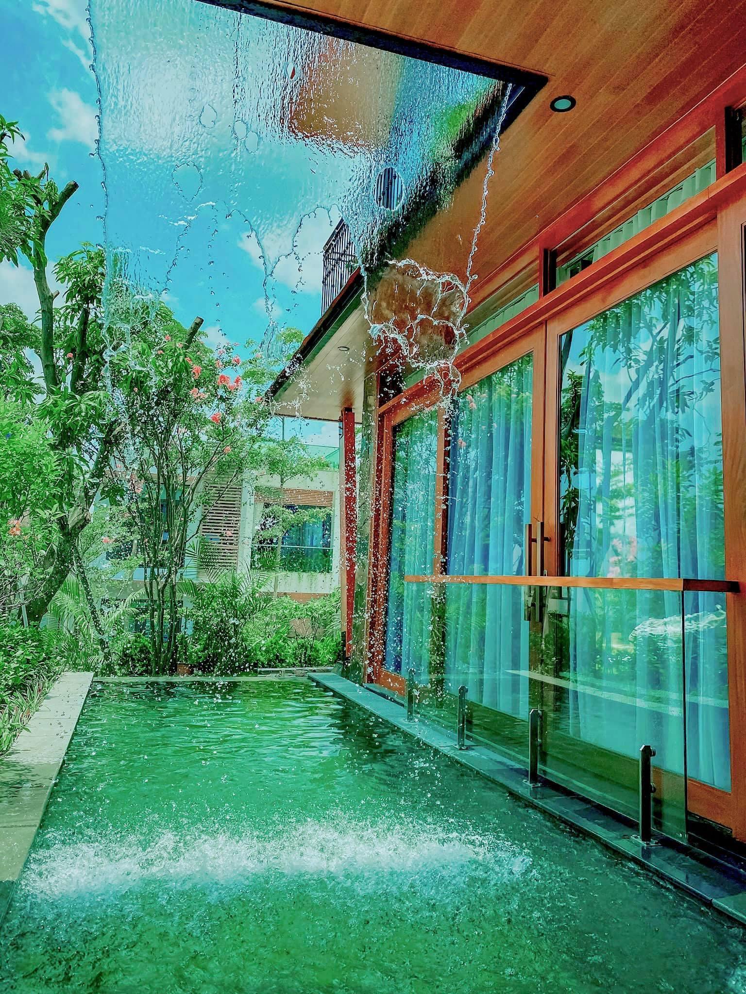 """""""Ốc đảo"""" xanh mướt rộng 250m2 ở Vĩnh Phúc của bà mẹ 2 con"""