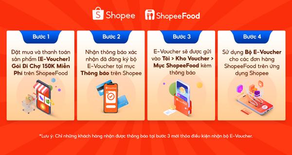 ShopeeFood ưu đãi đặc biệt khách mới: Miễn phí đi chợ, đặt đồ ăn